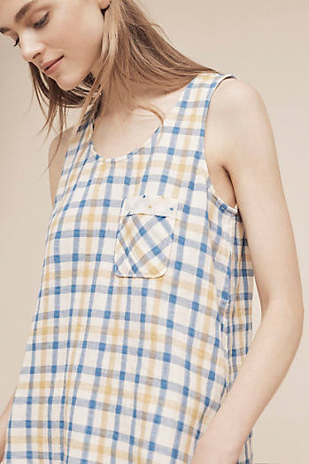 Brandywine Plaid Top