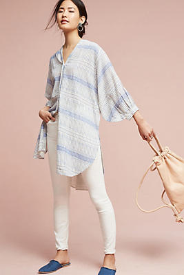 Slide View: 1: Yarn-Dyed Tunic