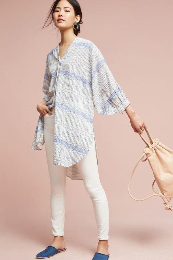 Maeve Yarn-Dyed Tunic