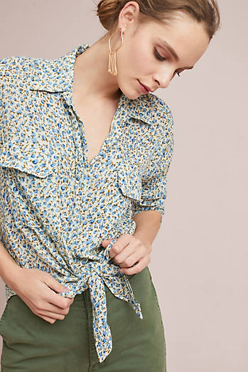 Faithfull Dahlia Buttondown