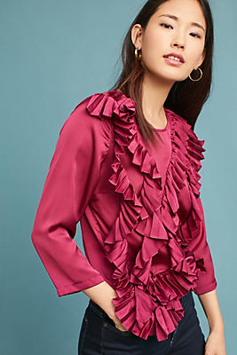 Slide View: 1: Tracy Reese Cascade Blouse