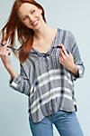 Thumbnail View 1: Indiana Printed Blouse, Blue