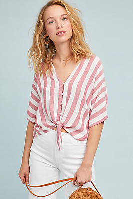 Slide View: 1: Rails Sevilee Striped Buttondown