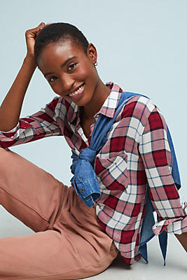 Slide View: 1: Rails Hunter Plaid Buttondown