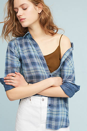 Elaine Plaid Buttondown