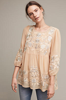 Easterly Embroidered Blouse