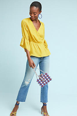 Slide View: 1: Cypress Wrap Blouse