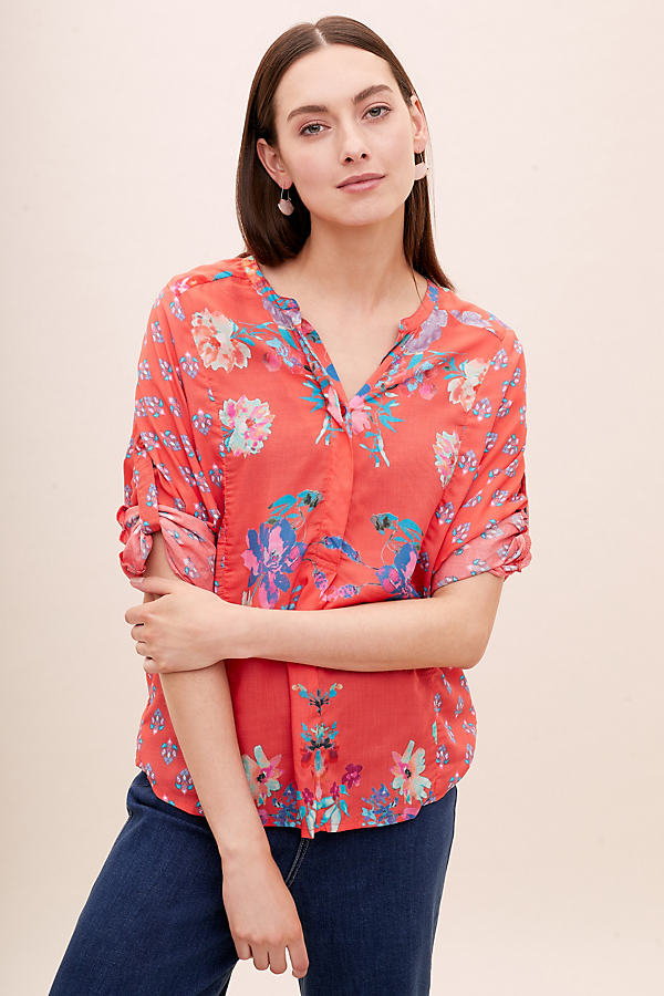 Jessa Printed Blouse - Assorted, Size M