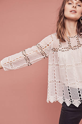 Auralis Lace Top