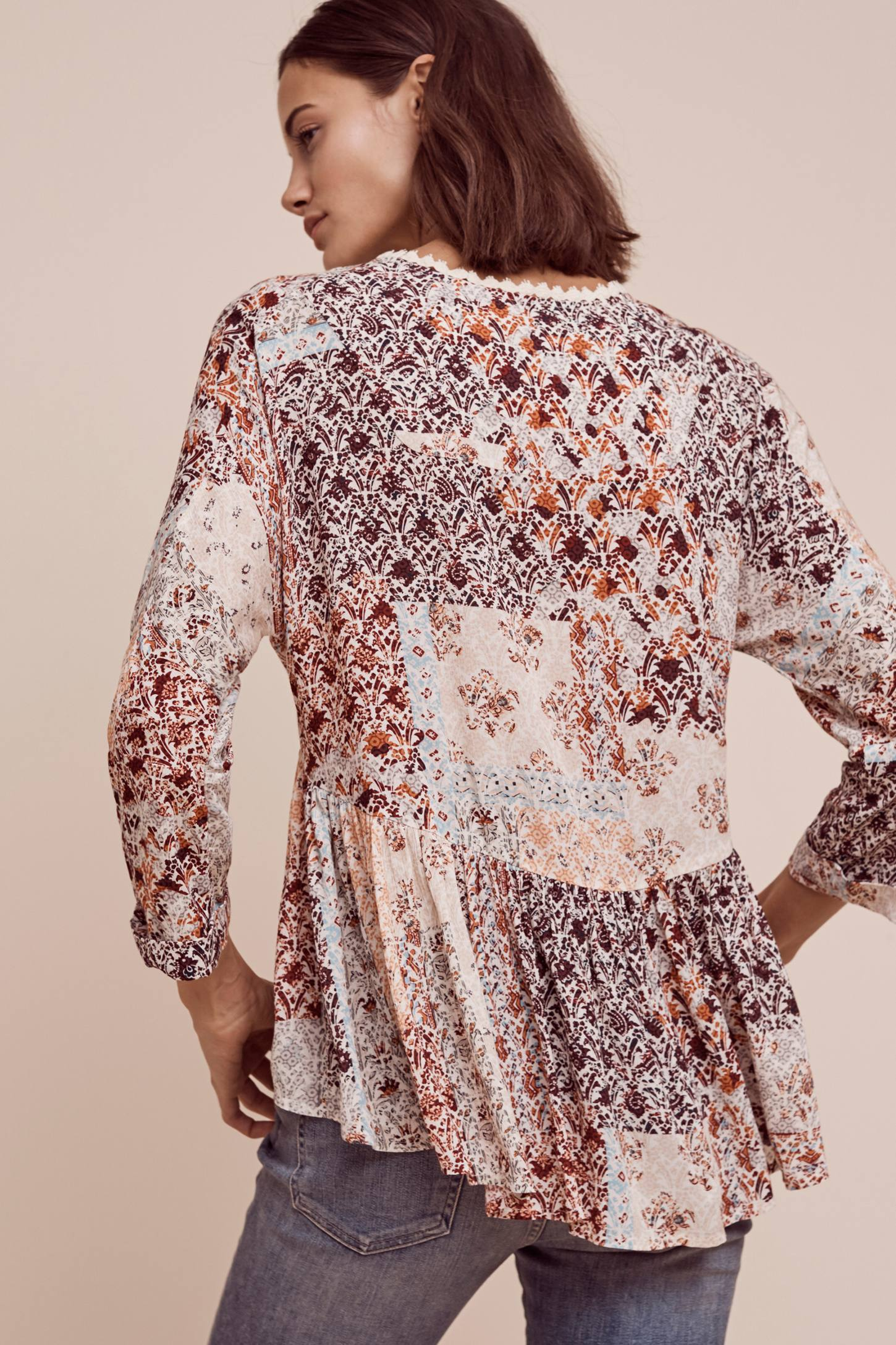 Auxerre Patchwork Top