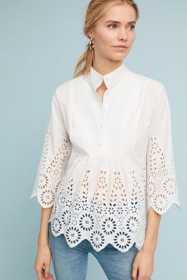 Moira Cutout Blouse by Monarc