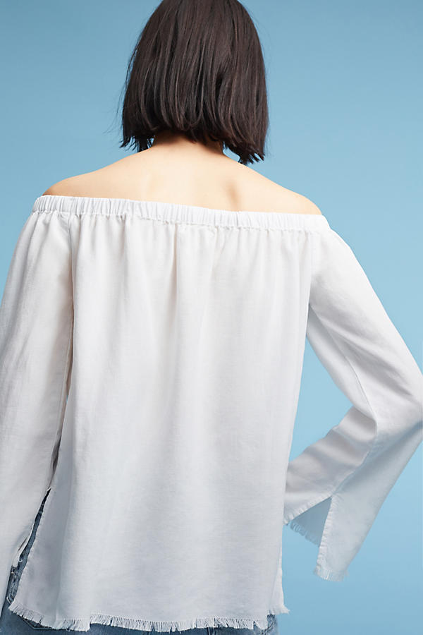Slide View: 3: Cloth & Stone Sundays Off-The-Shoulder Top