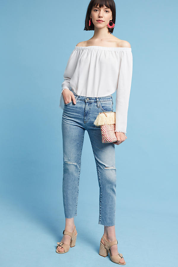 Slide View: 4: Cloth & Stone Sundays Off-The-Shoulder Top