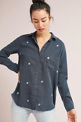 Slide View: 1: Cloth & Stone Stargazer Buttondown