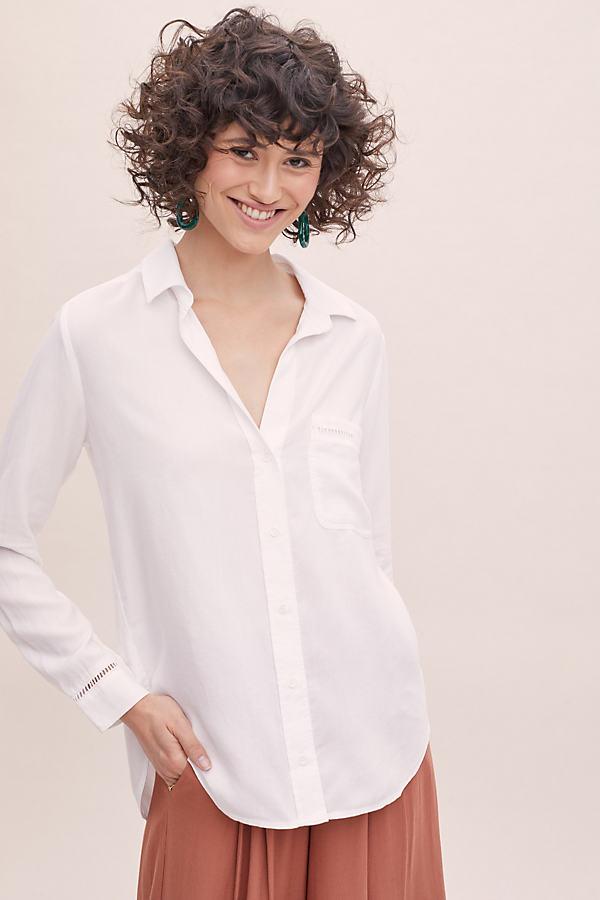 Cloth & Stone Dale Shirt - White, Size S