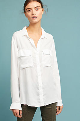 Slide View: 1: Cloth & Stone Westerly Pocketed Buttondown