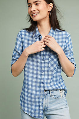 Slide View: 1: Cloth & Stone Gingham Buttondown