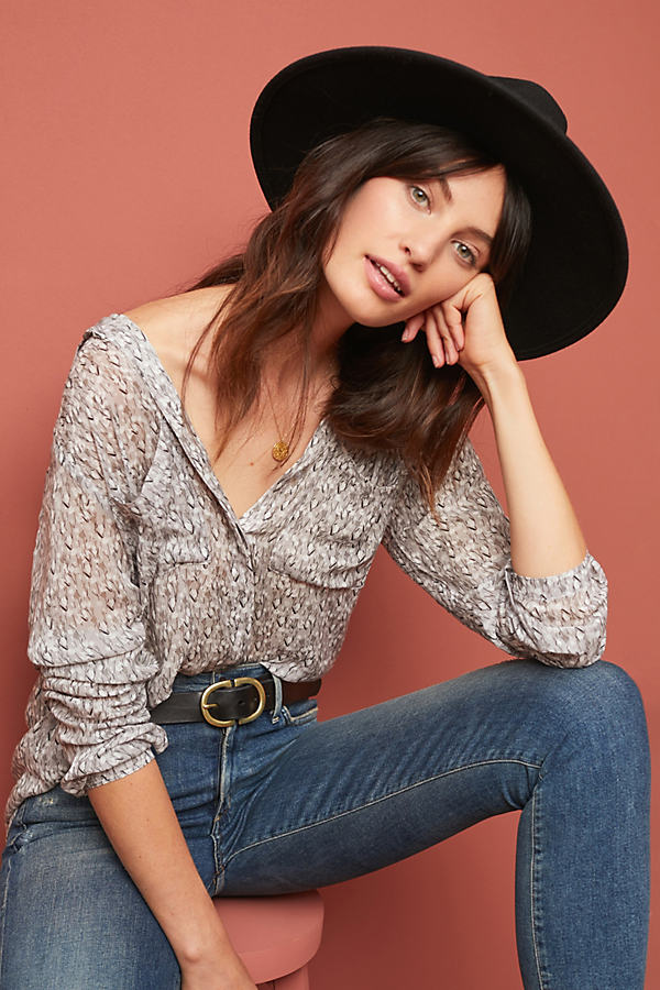 Cloth & Stone Tavira Shirt - Grey, Size M
