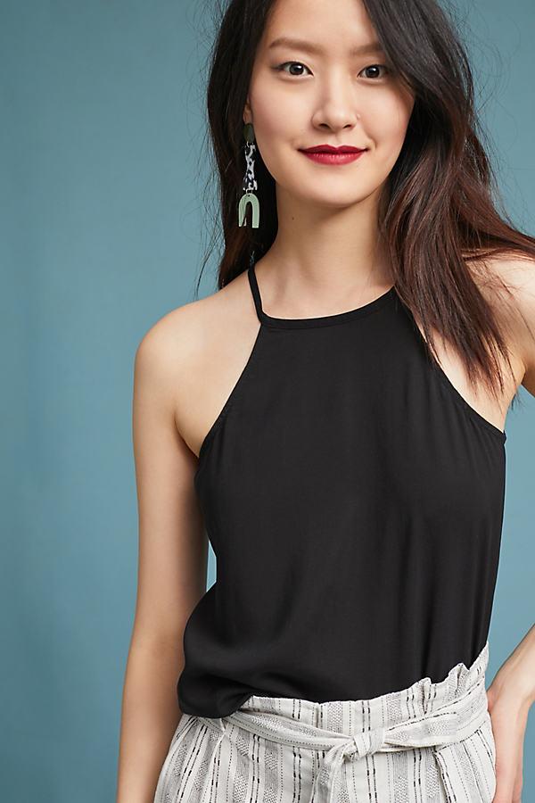 Cloth & Stone Casual Cami - Black, Size Xs