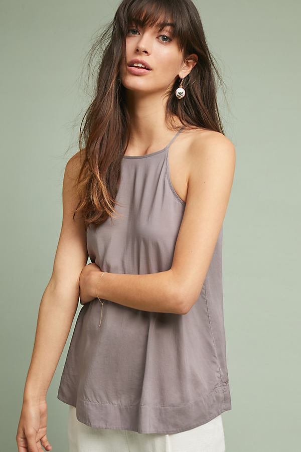 Cloth & Stone Casual Cami - Grey, Size M