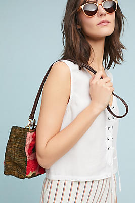 Slide View: 1: Cloth & Stone Lace-Up Tank