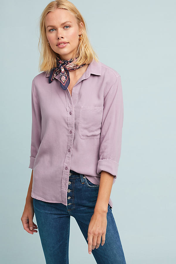 Cloth & Stone Madison Shirt - Pink, Size Xl