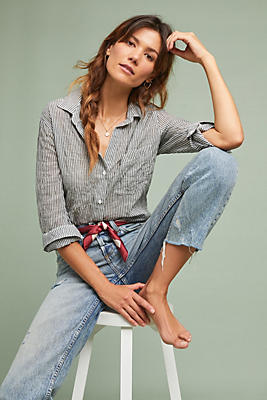 Slide View: 1: Cloth & Stone Charlotte Buttondown