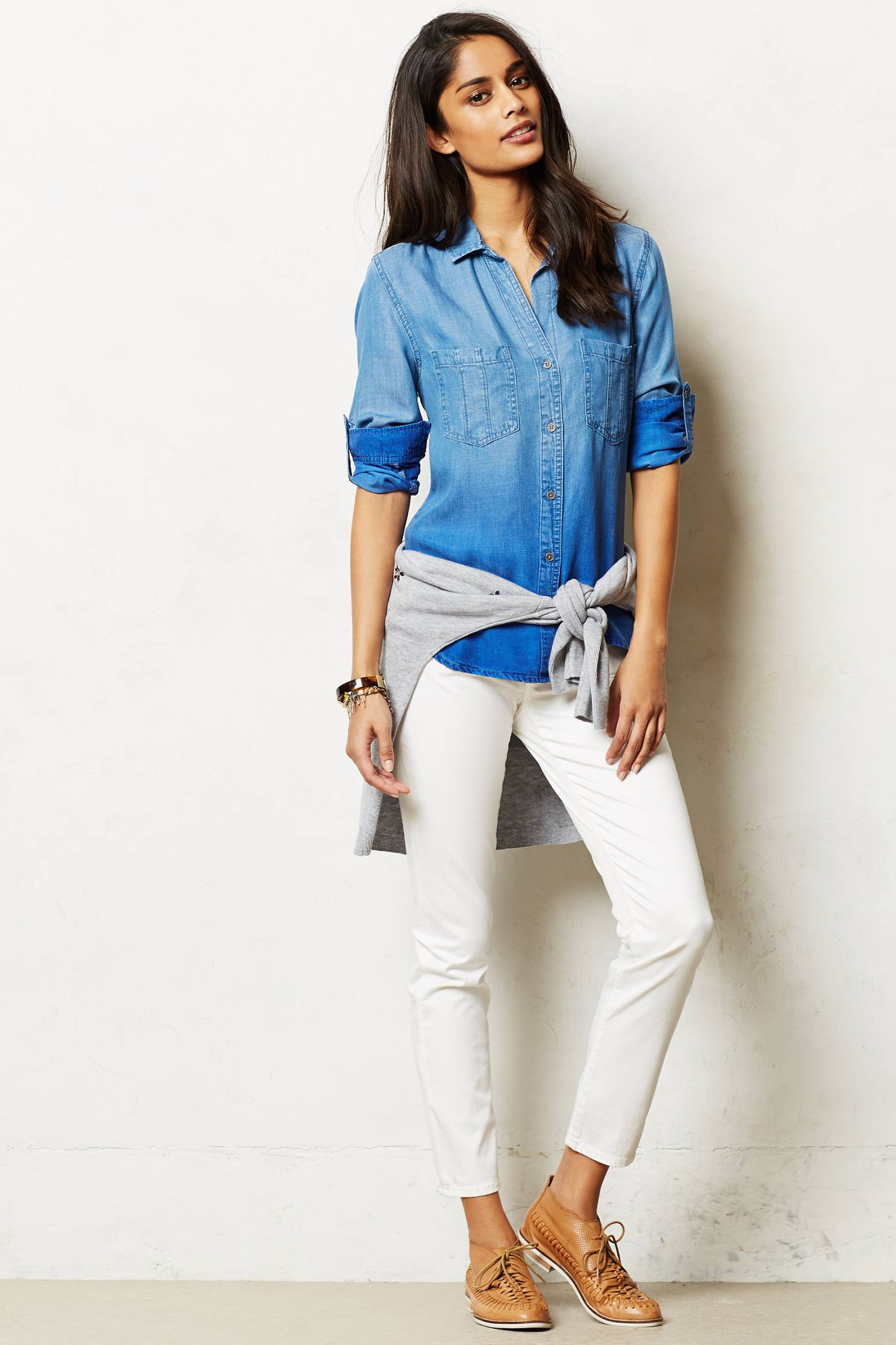 Ombre Chambray Buttondown