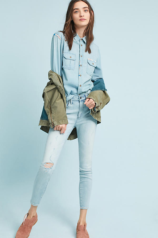 Slide View: 3: Chemise en chambray MOTHER