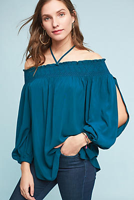 Slide View: 1: Rosario Off-The-Shoulder Top