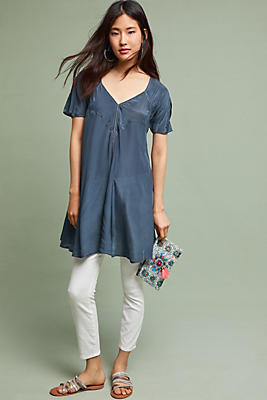 Slide View: 1: Bari V-Neck Tunic