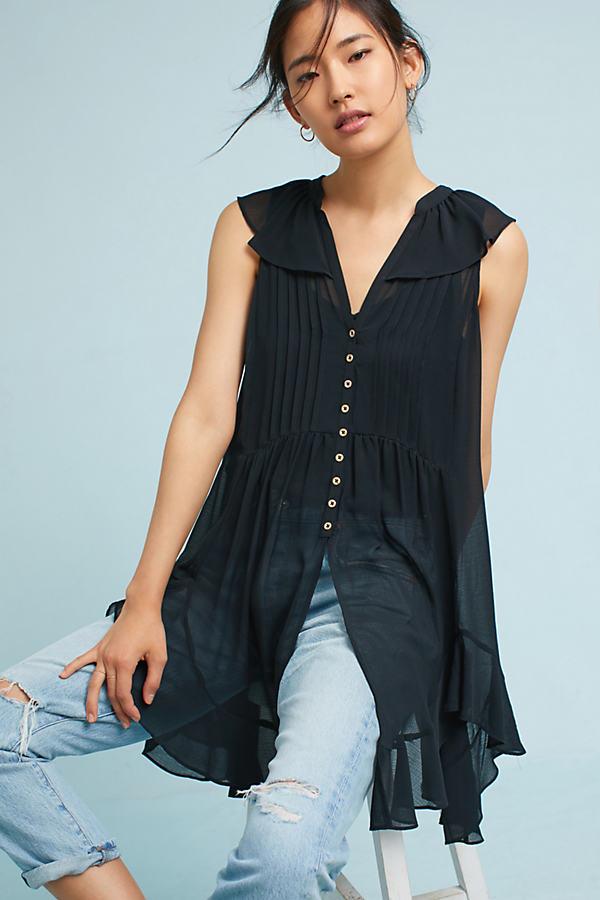 Pelisse Buttondown - Black, Size M