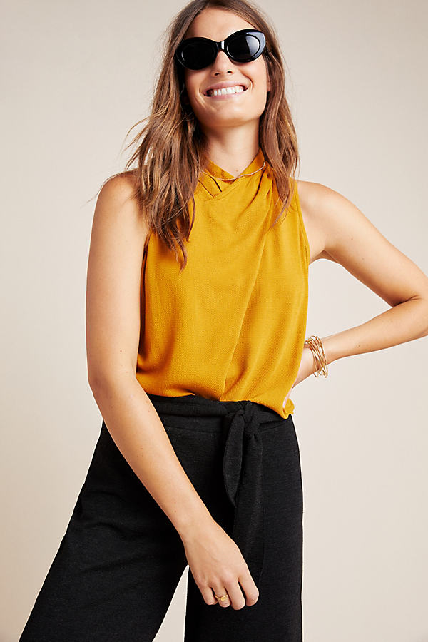 Cana Top - Gold, Size Uk 10