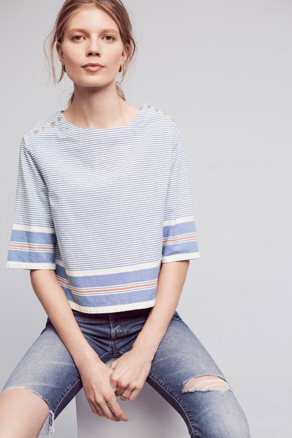 Maeve Sullivan Stripe Top