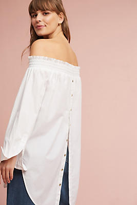 Slide View: 1: Tantira Off-The-Shoulder Tunic