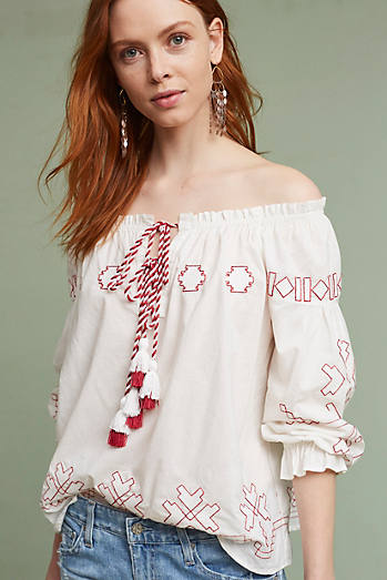 Farina Embroidered Blouse