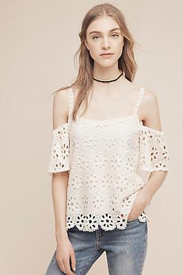 Kinsey Open-Shoulder Blouse
