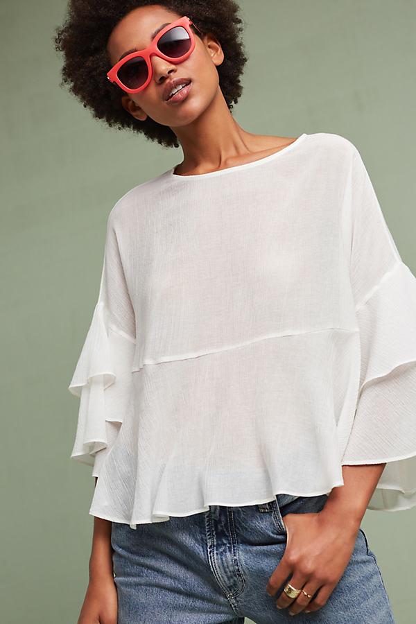 Nokomis Pullover, White - White, Size M