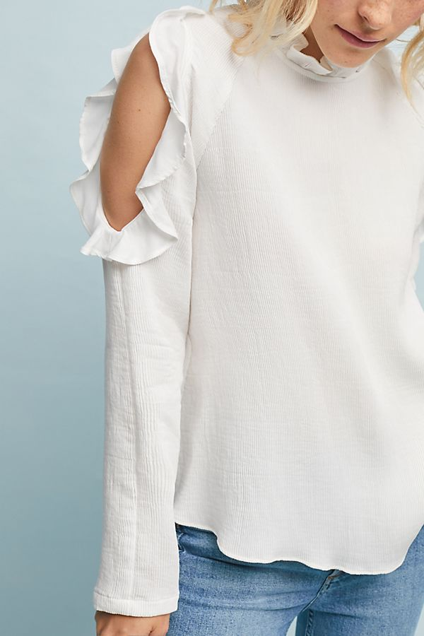 Antrim Open-Shoulder Pullover | Anthropologie