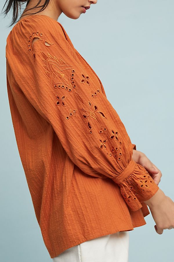 Darby Peasant Top | Anthropologie