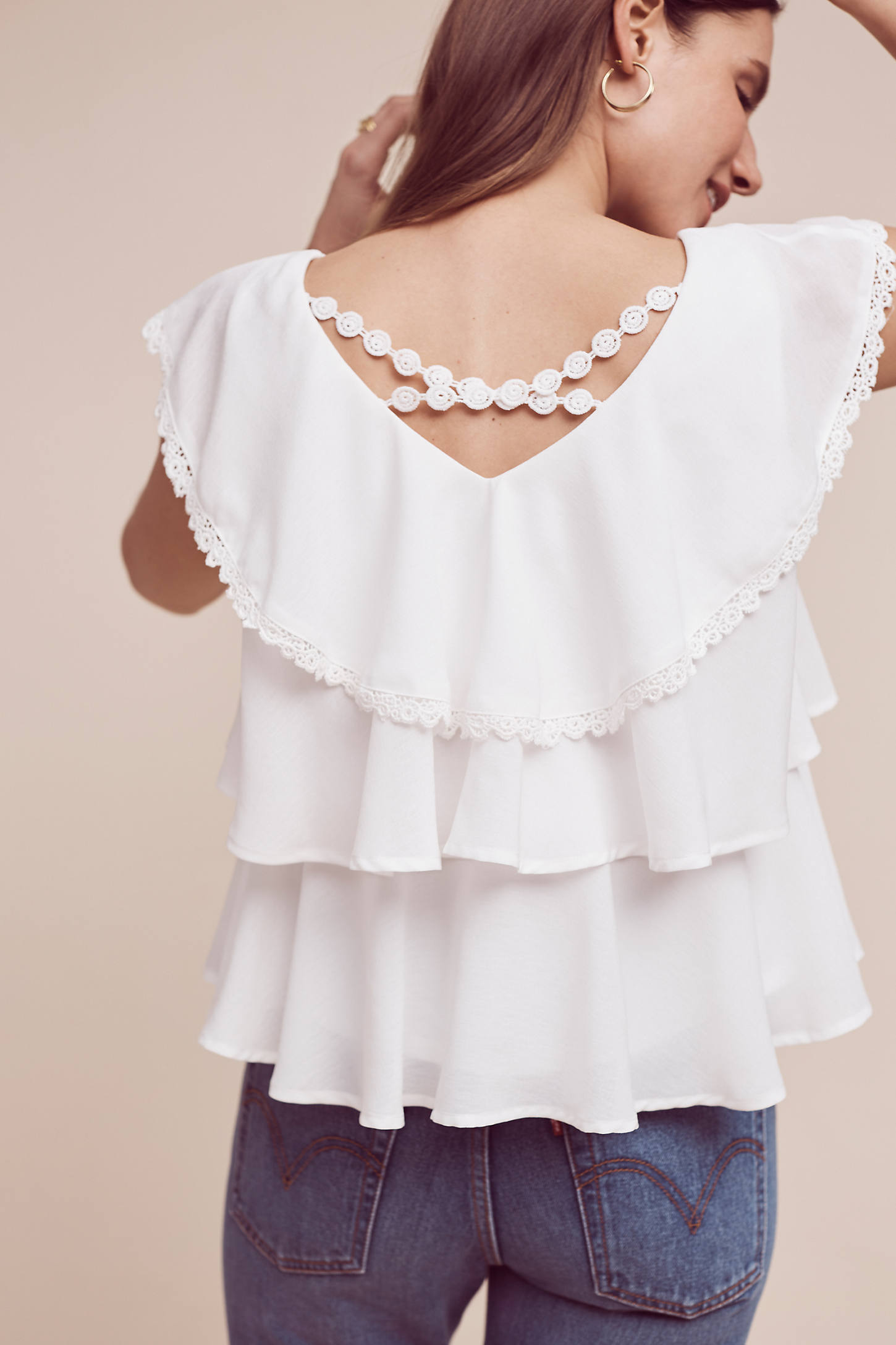 Solenne Tiered Blouse