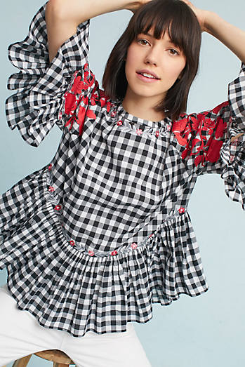 Gingham Swing Tunic