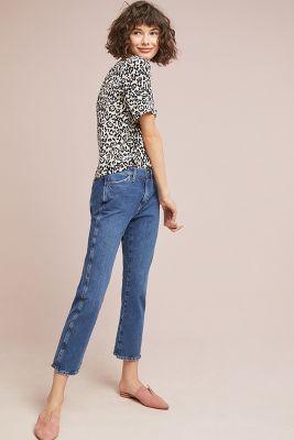 Lily & Lionel   Leopard Silk Buttondown  -    NEUTRAL MOTIF
