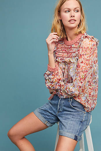 Belle Ruffled Blouse