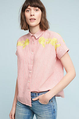 Slide View: 1: Jemima Embroidered Top