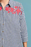 Thumbnail View 2: Embroidered Gingham Blouse
