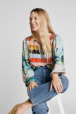 Slide View: 1: Delaunay Blouse
