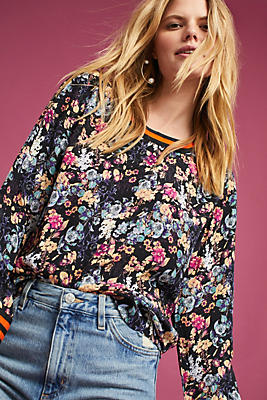 Slide View: 1: Riley Floral Top