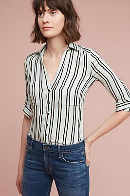 Slide View: 1: Bold Stripe Buttondown