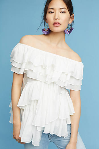 Juliet Off-The-Shoulder Blouse